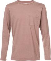 Saturdays NYC longsleeved chest pocket T-shirt