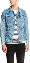 G Star G-STAR Men's Denim Jacket Jacket - Blue -