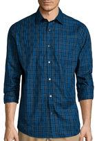 Claiborne Long-Sleeve Purple Woven Shirt