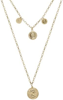 Ettika Multi-Coin Chain Necklace Set