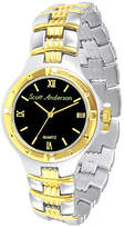 Fine Jewelry Mens Two-Tone Personalized Watch Family