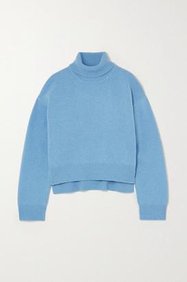 REJINA PYO Lyn Cashmere Turtleneck Sweater - Sky blue