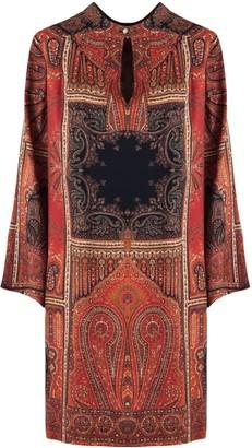 Etro Long Silk Dress