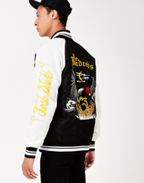 The Hundreds Souvenir Bomber Jacket Black