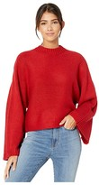 BB Dakota Neck Yourself Sweater (Apple Red) Women's Clothing