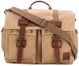 Belstaff cargo pocket holdall - men - Cotton/Leather - One Size