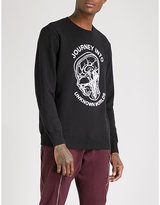 Undercover Journey Into Unknown Worlds Cotton-jersey Sweatshirt