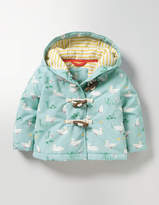 Boden Ducks Printed Duffle Coat