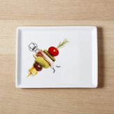 CB2 Oliver Bloody Mary Garnish Appetizer Plate