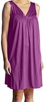 EZI Women's Nightgowns23 Sleeveless Silk Poly Sleepwear Nightgown
