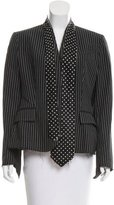 Paul Smith Striped Structured Blazer