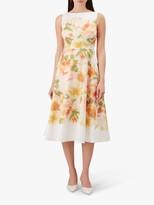 Hobbs Dahlia Dress, Ivory Multi