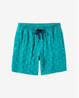 Sperry invisible critter green swim shorts
