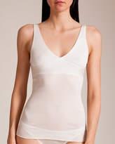 Dana Pisarra Parigi Ribbed Silk Fitted Camisole