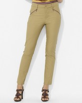 Lauren Ralph Lauren Slim Stretch-Cotton Pants