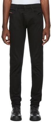 Diesel Black D-Strukt Jeans
