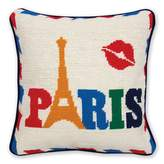 Jonathan Adler Jet Set Paris Pillow, 12 x 12