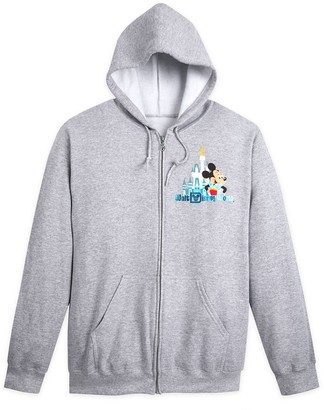 Disney Mickey Mouse and Friends Zip-Up Hoodie for Adults Walt World