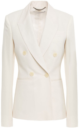 Stella McCartney Double-breasted Wool-twill Blazer