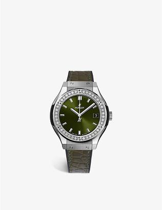 Hublot 581.NX.8970.LR.1104 Classic Fusion diamond