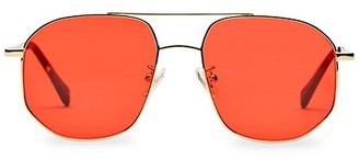 Kamo The Dude 55MM Aviator Sunglasses