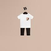 Burberry Check Pocket T-Shirt