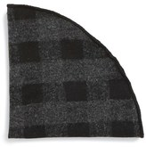 Alexander Olch Men's 'Tuxedo' Check Wool Pocket Round
