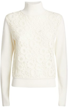 Chloé Lace-Embroidered Sweater