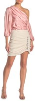 Do & Be Do + Be Embellished Detail Ruched Mini Skirt