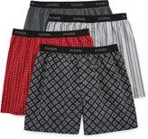 Hanes 4-pk. Cotton Woven Boxers