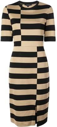 Derek Lam striped jersey dress