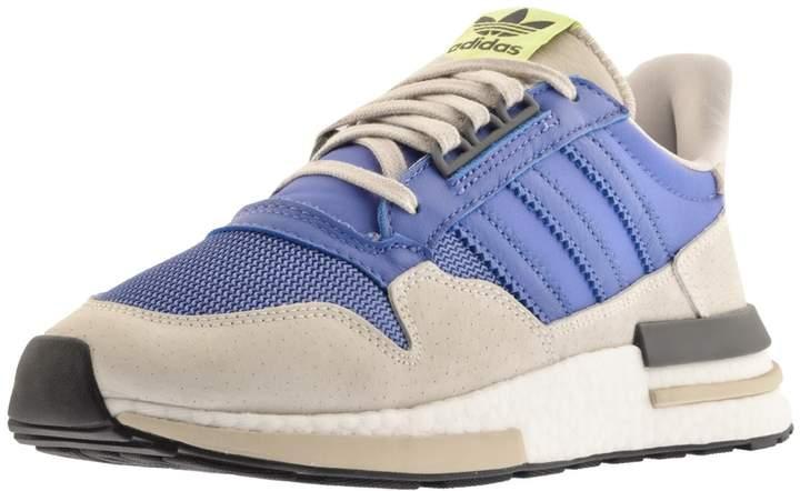 site réputé 2c48d 4d5ac ZX 500 RM Trainers Blue