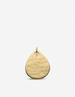 Monica Vinader Ziggy Petal 18ct yellow-gold vermeil pendant