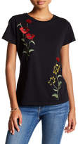 Romeo & Juliet Couture Floral Embroidered Tee