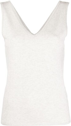 Max & Moi knitted V-neck top