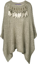 Ralph Lauren knitted kaftan - women - Viscose/Nylon - XS/S