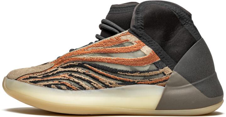 Adidas Yeezy QNTM 'Flash Orange' Shoes - Size 5