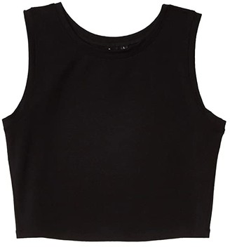 Bloch Classic Crop Top (Black) Women's Clothing
