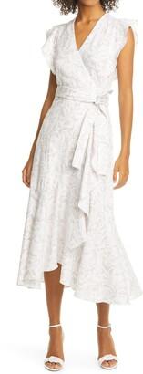 Rebecca Taylor Zadie Floral Wrap Dress