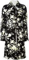 Celine floral belted coat