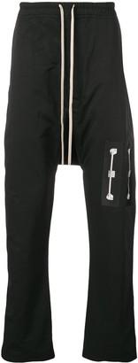 Rick Owens drop crotch track pants