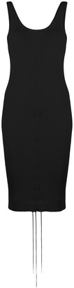 Helmut Lang Stretch-Knit Dress
