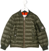 Moncler Aidan padded bomber jacket - kids - Polyamide/Goose Down - 6 yrs