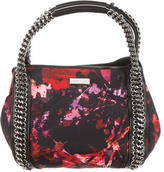 Karen Millen Floral Print Crepe Handle Bag