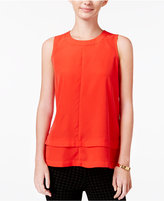 Maison Jules Tiered Top, Only at Macy's