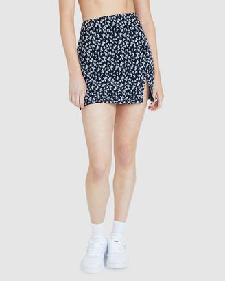 Don't Ask Amanda Liana Garden Mini Skirt