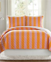 Vera Bradley Louisa Textured Stripe King Quilt Bedding