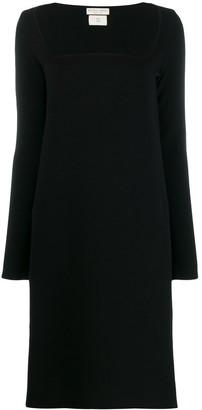 Bottega Veneta Square Neckline Dress