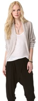 DKNY Pure Open Front Cardigan