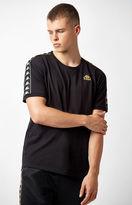 Kappa Vale Black & Gold Ringer T-Shirt
